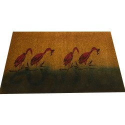 Natural Coconut Doormat - The Duck 150×90×3CM