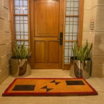 Natural Coconut Doormat Rectangle - Brown-Red 180×90×5CM