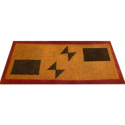 Natural Coconut Doormat Rectangle - Brown-Red 180×90×5CM