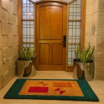 Natural Coconut Doormat Rectangle - Red-Brown 180×90×3CM