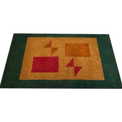 Natural Coconut Doormat Rectangle - Red-Brown 180×90×3CM