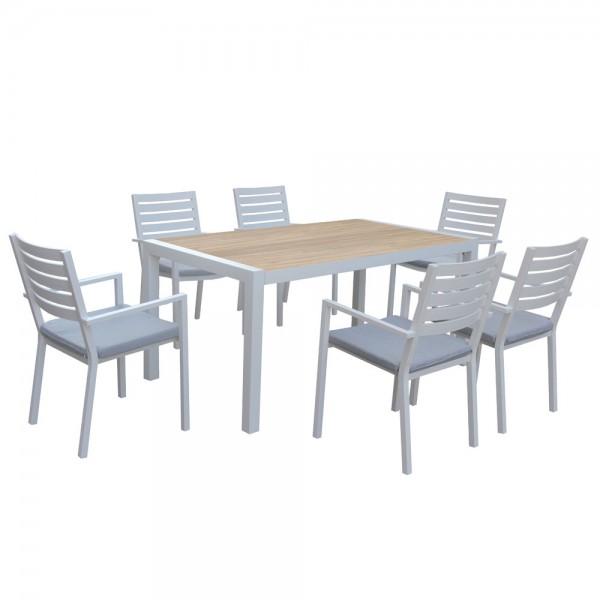 MAYFAIR DINING WHITE 7PCs